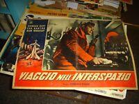 Viaje en el Espacio Ultraterrestre Fotobusta Original 1959 Duff Bartok Tipo C