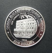 GB H.M. QEII the Queens mother Silver 925 (20g) Proof coin with COA