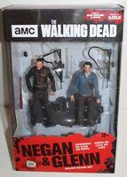 McFarlane AMC Walking Dead Negan & Glenn Action Figures Deluxe Set New In Box