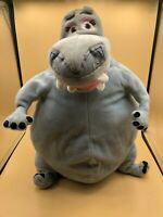 Large Madagascar Gloria The Hippo Plush Kids Soft Stuffed Toy Animal Doll 2005