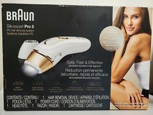 Braun Silk-expert Pro 5 PL5137IPL Hair Removal System - New