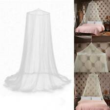 New Elegant Round Lace Insect Bed Canopy Netting Curtain Dome Mosquito Net White