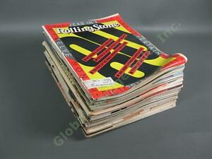 COMPLETE VINTAGE Full Year Run 1981 Rolling Stone Magazine Collection Lot Set NR