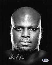 Derrick Lewis Signed UFC 8x10 Photo BAS Beckett COA Fight Face Picture Autograph