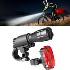 Bicycle Front Back Waterproof  Light Set Tail Light Mountain Bike Rear LightLamp