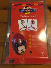 Disney Mickey Mouse Twister Lamp, Red