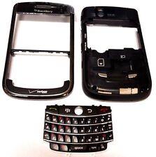 Blackberry Tour 9630 Verizon Middle And Front Housing Key Pad Black