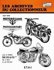 REVUE TECHNIQUE MOTOBECANE 125 ET 175 (MONOCYLINDRE 4 TEMPS) - Les Archives du C