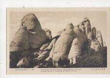 Montserrat Pefiascos Sobre Ermita de SSma Trinidad Spain RP Postcard 323b