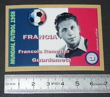 FRANCE F. REMETTER GIRONDINS BORDEAUX COUPE MONDE FOOTBALL 1958 STYLE PANINI