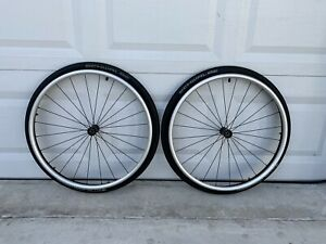 """24"""" wheelchair wheels with metric bearings."""