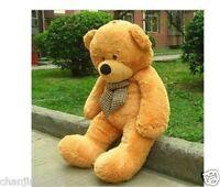 Giant huge 80CM big light brown teddy bear plush soft bears toys doll ONLY COVER