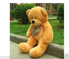 Giant huge 80CM big light brown teddy bear plush soft bears toys doll ONLY COVER