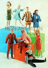 BARBIE Tressy SINDY Ken DOLLS CLOTHES Knitting Pattern Photocopy LOTS of OUTFITS