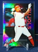 2020 Bowman Platinum Base #96 Albert Pujols Los Angeles Angels