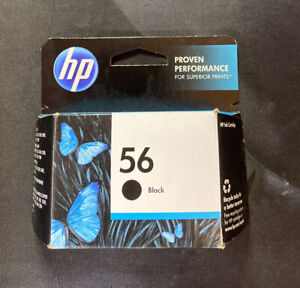 HP 56 (C6656AN#140) Black Ink Cartridge NEW IN BOX NEVER OPENED