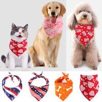 Dog Bandana Collars Small Large Pet Dogs Bandana Scarf Tie Collar for Dog Cats Z