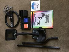 """White's SPECTRA V3i Metal Detector HD Color Display 10"""" DD Search Coil w/ EXTRA"""