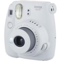 Fujifilm Instax Mini 9 Compact Instantanée Caméra à Film : Smokey Blanc