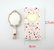 Beauty Cosmetic Makeup Hand Held Luxury Mirrors Women Lady Compact Travel Mirror