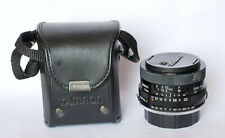 Tamron 28mm f2.5 lens including case, Pentax K fit, other fits available.