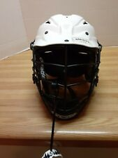 "Cascade Cpv-R S/M-R Adjustable Spr Fit 21.5""-23"" Lacrosse Helmet Lax White Black"