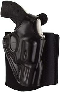 Galco Ankle Glove/Ankle Holster for Glock 42 (Black, Right-hand)