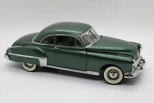 Danbury Mint 1949 Oldsmobile 88 Coupe Die Cast Scale Car - Green