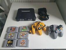 Nintendo 64  mit 6 beste  spile