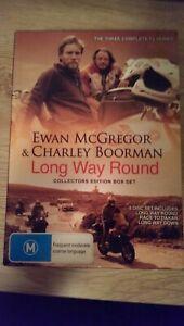 Long Way Round Collectors Edition Box Set - Ewan McGregor & Charley Boorman DVD