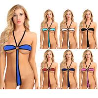 Women's Sexy Swimsuit Bikini Swimwear Bathing Suit Beachwear One Piece Monokini