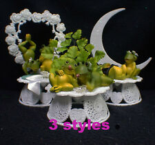 Our Pad Frog Lake Pond Natures Wedding Cake Topper Groom Top Outdoor Animal NEW