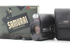 【UNUSED in BOX】Kyocera Samurai X3.0 Black Half Frame 35mm Film Camera From JAPAN
