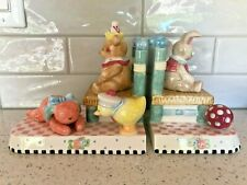 Mary Engelbreit Lullababy Pair of Bookends Bear Duck Bunny