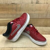 Nike Unisex Kids Air Force 1 Sneakers Red ARO734-800 Lace Up Low Top Shoes 5.5