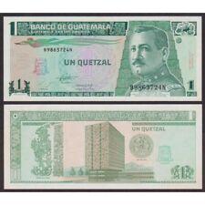 GUATEMALA  1 Quetzal  1993 AU/UNC P 87 a