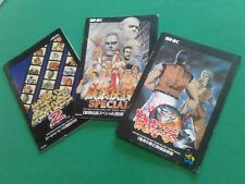 NEO GEO World Heroes 2, Art of Fighting 2, Fatal Fury Special instructions only