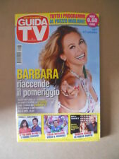 GUIDA TV n°35  2013 [G764] BARBARA D'URSO