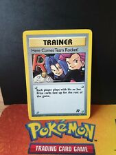 Here comes team rocket 15/82 Team Rocket EX/NM Condition Holo Pokemon Card