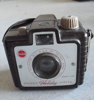Vintage Kodak Brownie Holiday Camera with Dakon Lens