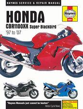 3901 Haynes Manuale Riparazione Moto Honda CBR1100XX SUPER BLACKBIRD 97 - 07