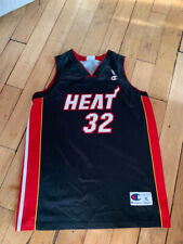 Shaquille O'Neal 32 Miami Heat NBA basketball jersey Champion Europe size XL 48