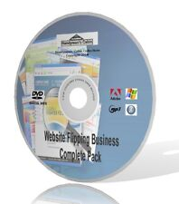 Website Flipping Business Complete Pack DVD - Videos, Expert Guides and More!