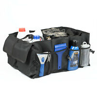 FOLDABLE CAR BOOT ORGANISER TIDY HEAVY DUTY COLLAPSIBLE SHOPPING STORAGE 2 IN 1