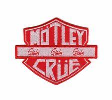 Mötley Crüe Motley Crue Patch Heavy Metal Hard Rock Band Girls