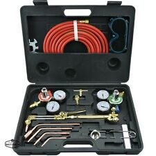 Gas Welding Machine And Cutting Kit Torch Oxygen Acetylene Regulator Victor Set