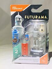 Mega Construx HEROES - Futurama - BENDER Series 2 New In Package