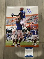 KYLE PITTS FLORIDA GATORS SIGNED 11x14 Photo Beckett WITNESS NFL Draft