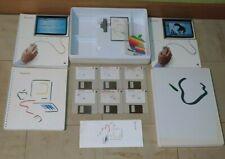 1984 Apple Macintosh 128K M0001 Steve Jobs Picasso Accessory Kit Box Complete