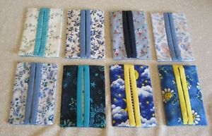 Blue Kleenex Holders with Tissues